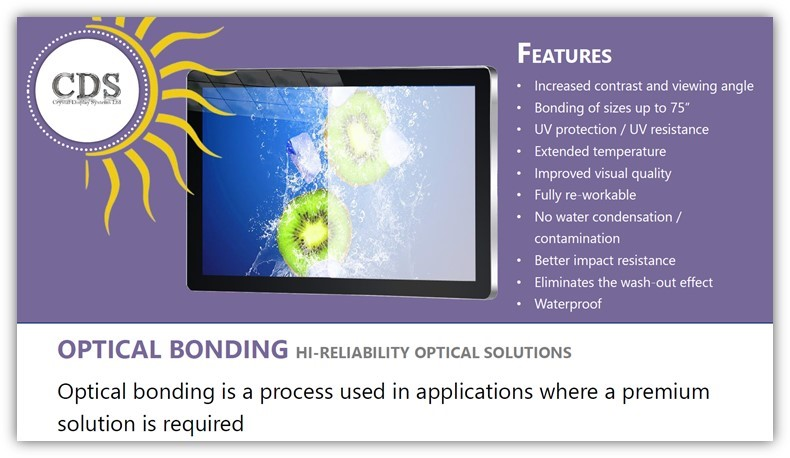 CDS Optical Bonding Ability