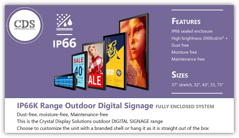CDS Outdoor Display Range