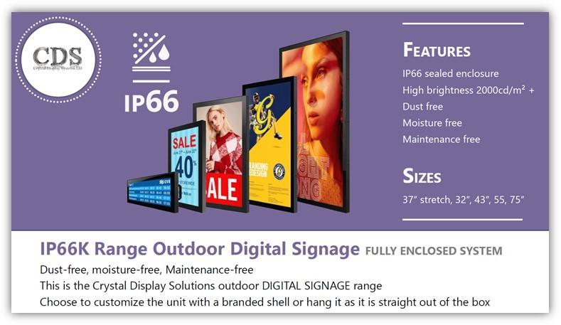 CDS Outdoor Display Range