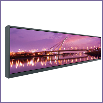 Open Frames und Stretched UHD 86″ Screens