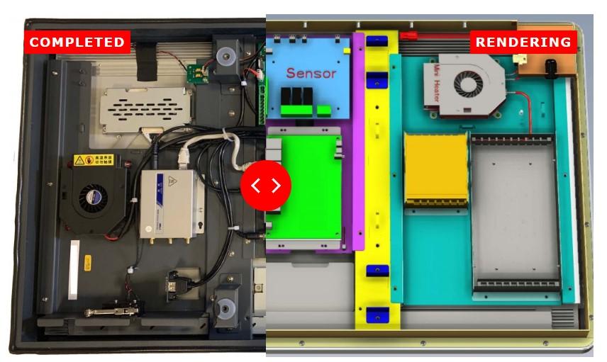 CDS bespoke monitor sliders