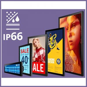Introducing our Newly Updated Range of Waterproof IP66 Monitors