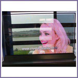 CDS Display Corner on YouTube- Transparent OLED