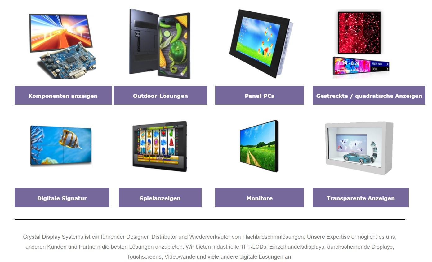 CDS german website