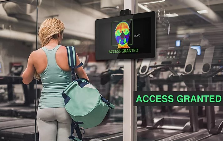 CDS CheckVue tablets at the gym