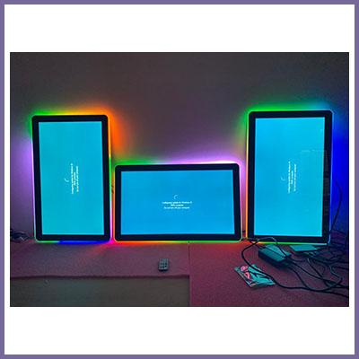 CDS Display Corner – Halo 27″ LED Edge Lit Monitors