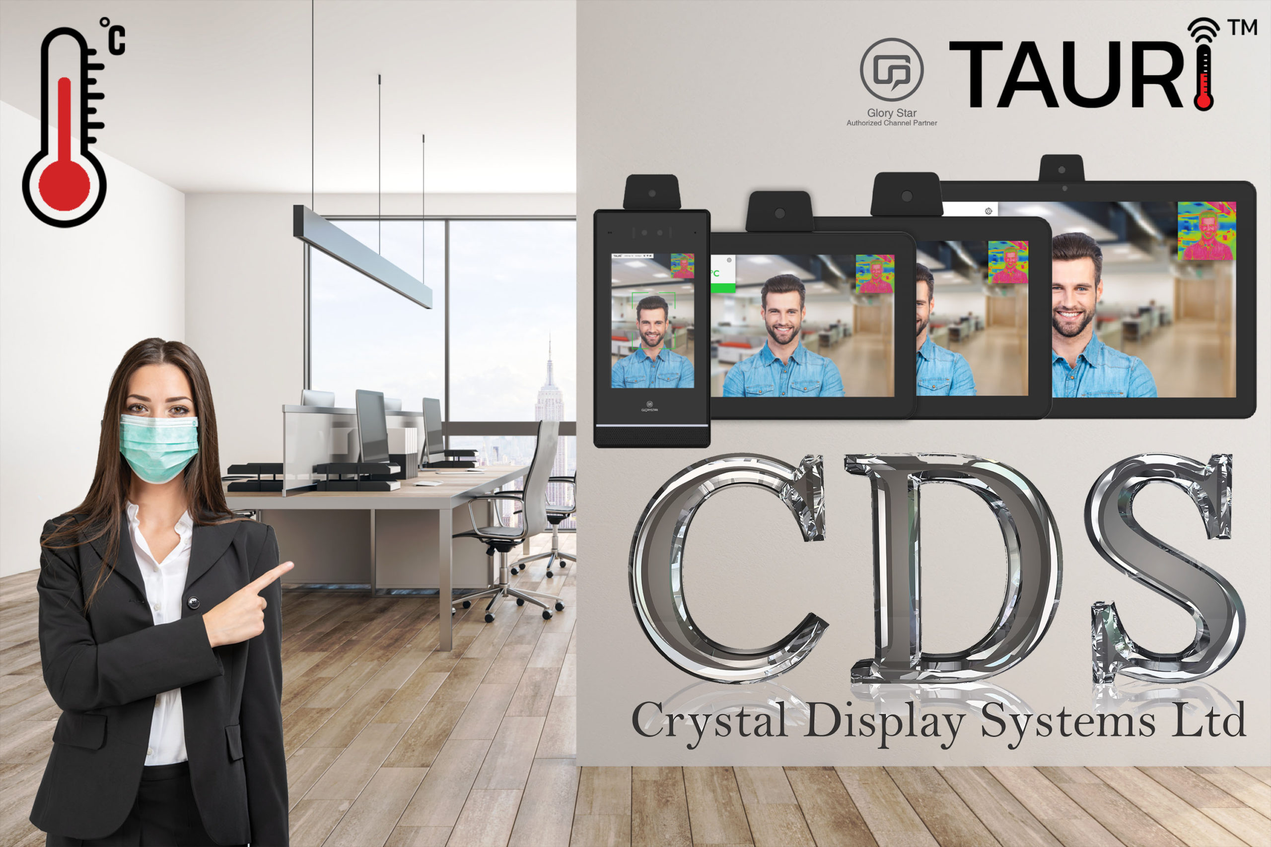 CDS TAURI in the office