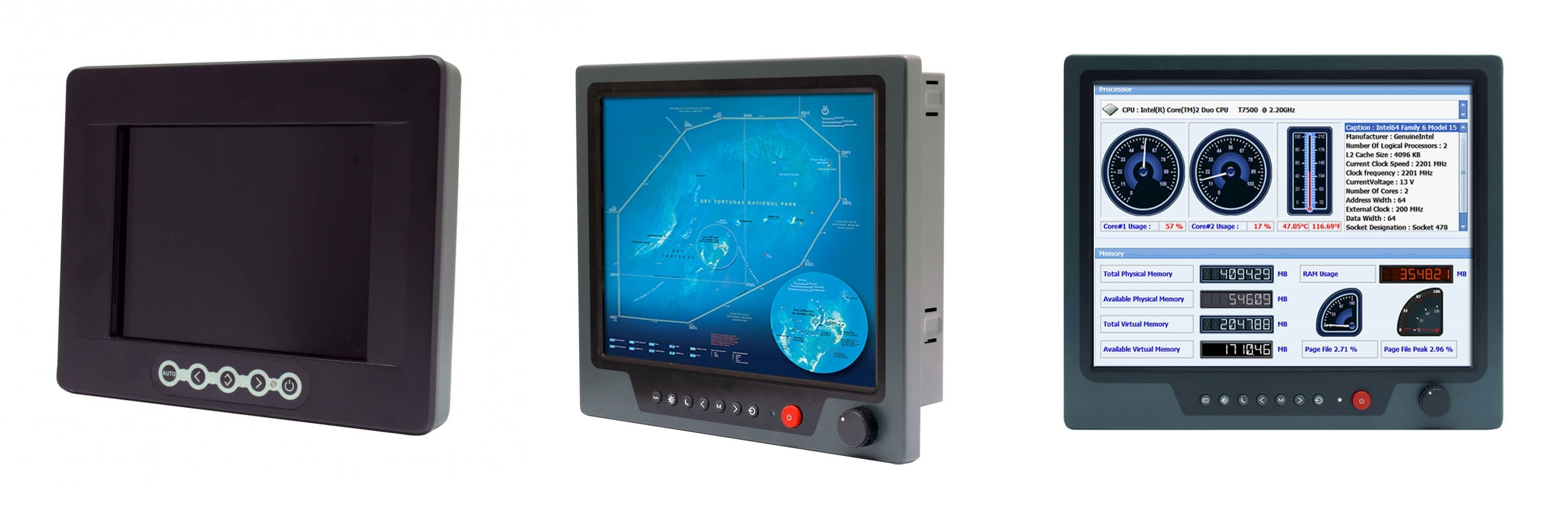cds marine monitor range