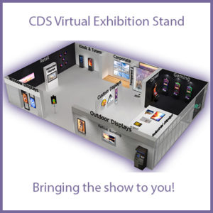CDS Bring their Display Exhibition Stand to you!