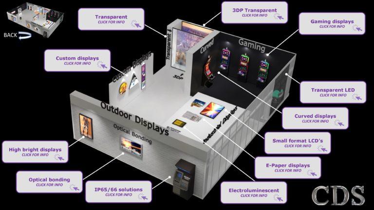 CDS retail virtual display stand