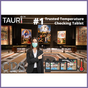 Make Return Visitors Feel Safe with CDS Tauri Temperature Tablets