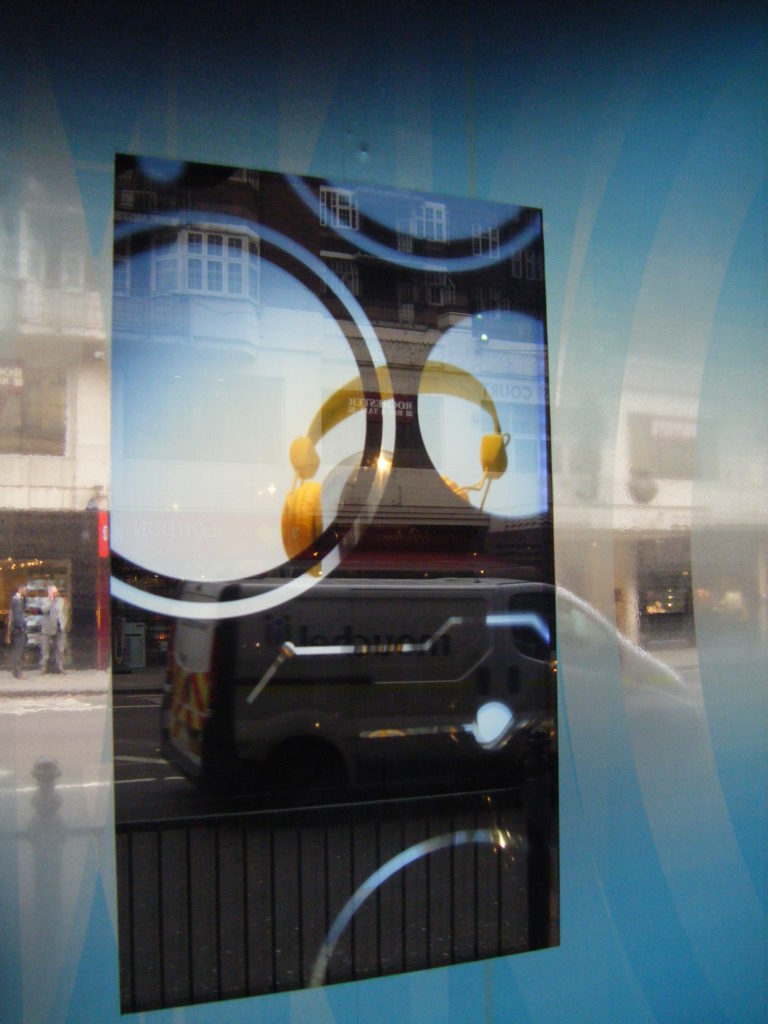 Harrods Transparent Window