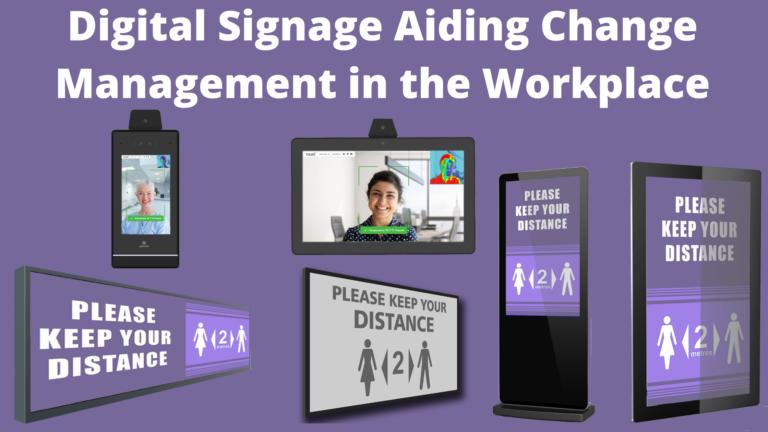 Digital signage NL header