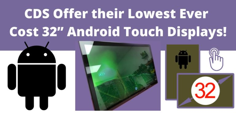 "32"" Android Touch Displays"