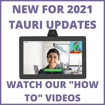 Tauri 2021 Updates – New Manual, New Presentation, New Videos