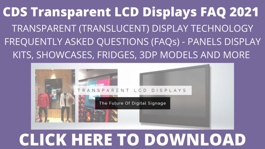 CDS TRANSPARNET FAQ 2021