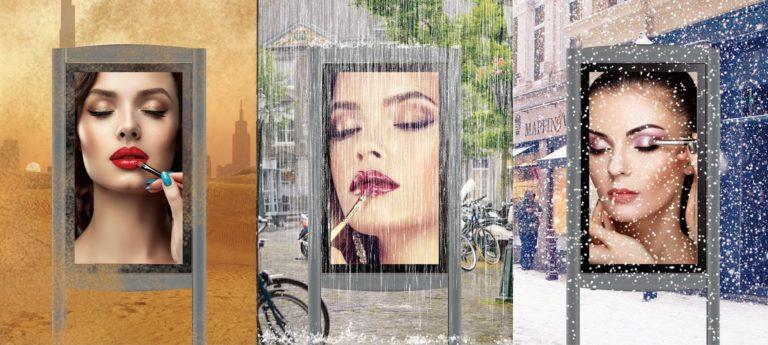 CDS outdoor weatherproof displays