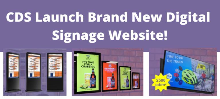 CDS Digital signage website