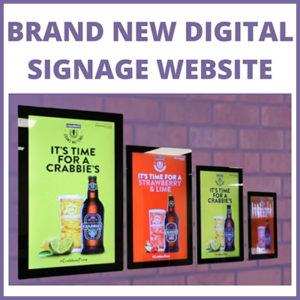 Crystal Digital Signage – CDS Launch Brand New Website