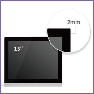 Cost Effective High Brightness Narrow Bezel Front IP65 Panel PCs