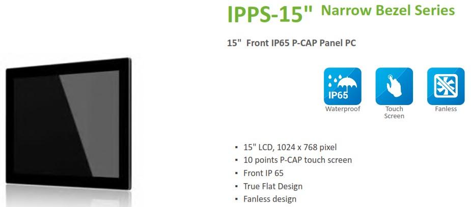 IPPS 15 inch narrow bezel