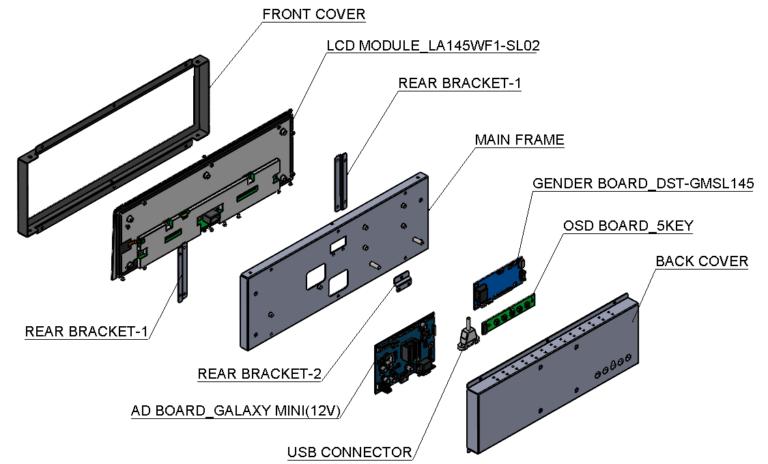 MO-145-EW-1000-D open framed solution