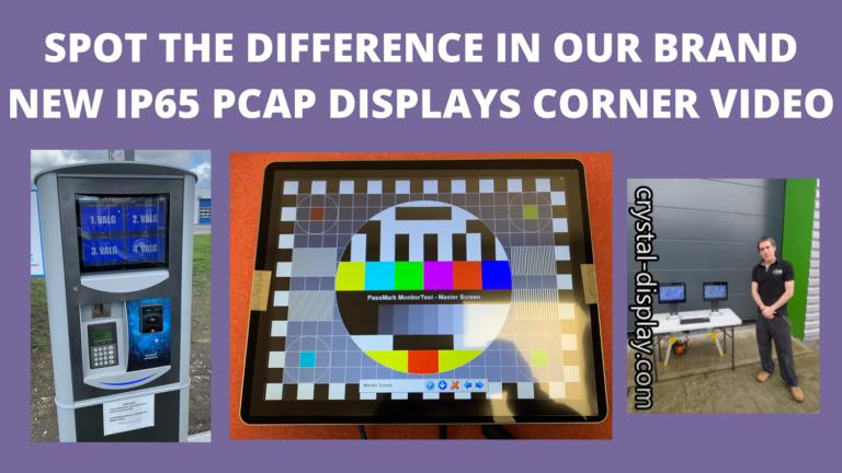 Optical Bonding display corner