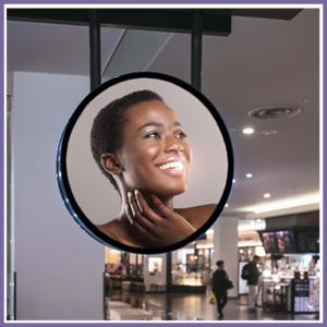 Circular LCD Display Range from Crystal Displays